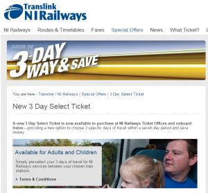 nirailways-three-day-ticket
